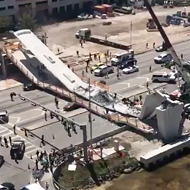 Pedestrian bridge at FIU collapses, authorities say six are dead
