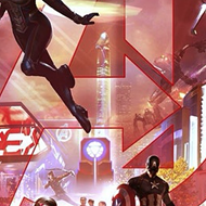 So uh, what's going on with that giant dong in the middle of Disney's new Avengers poster?