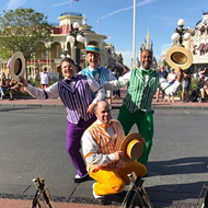 Disney's iconic barbershop quartet The Dapper Dans are looking to add new members