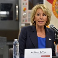 A year after being booed, Betsy DeVos comes back to Florida for another commencement speech