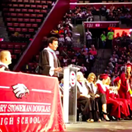 Jimmy Fallon makes surprise visit at Marjory Stoneman Douglas graduation