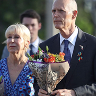 Two years later, Florida Gov. Rick Scott finally wears a Pulse ribbon