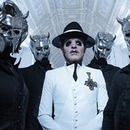 Swedish metal act Ghost to hit Orlando on Black Friday