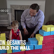 Congrats to Florida Rep. Ron DeSantis on the creepiest ad of the year