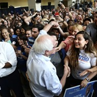 Bernie Sanders at UCF: 'The other side has money. Andrew has the people'
