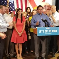 Ron DeSantis picks Jeanette Nuñez as running mate during Orlando GOP rally