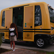 A Florida town will be the first in the world to test self-driving school buses