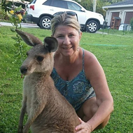 Florida's fugitive kangaroo, Storm, has been found