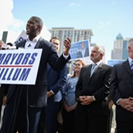 Three major I-4 mayors very loudly endorsed Andrew Gillum for governor in Orlando today