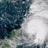 Michael strengthens into a hurricane as it heads for Florida Panhandle