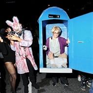 Everyone we saw in downtown Orlando on Halloween night