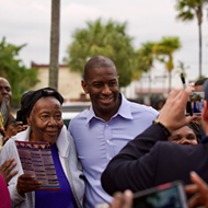 Andrew Gillum vows areas still reeling from hurricane won't be 'forgotten' if he wins Florida governor's race