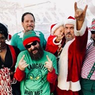 Bad Santa & the Angry Elves kick off holiday tour with a free show at Iron Cow