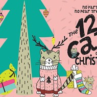 The 12 cats of Christmas