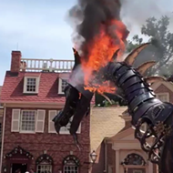 Disney decides to bring back dragon float that set itself on fire