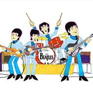 Ron Campbell, celebrated animator of the Beatles' <i>Yellow Submarine,</i> raises his periscope in Orlando