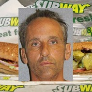 A Daytona man actually tried to rob a Subway by putting his hand under his shirt and pretending it was a gun