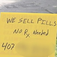 If you want to score some drugs in Orlando, these signs won't help