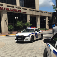 The Morgan & Morgan building was just evacuated because of a suspicious package