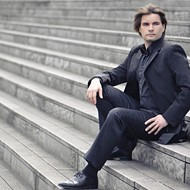 Nicolas Horvath plays the complete piano works of Philip Glass Sunday in a 10-hour nonstop recital