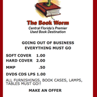 Sad news for book lovers: Used bookstore the Book Worm going out of business