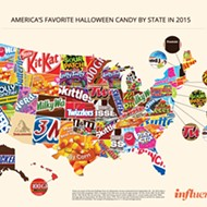 When it comes to Halloween candy, Floridians are so basic