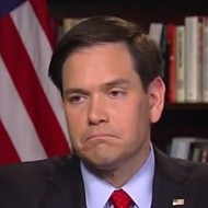 Everybody, quick – pile on Sen. Marco Rubio!