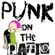 Monthly concert series Punk on the Patio debuts Jan. 6 with Flashlights, Out Go the Lights and Slumberjack