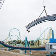 SeaWorld tops off Orlando's tallest, fastest and longest rollercoaster