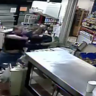Florida gas station clerk punches armed robbery suspect in the face