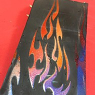 "Local confectioner creates ""Burn in Hell"" bar for those who hate Valentine's Day (or love Guy Fieri)"