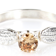 You can now buy a Golden Snitch engagement ring for the witch or wizard of your dreams
