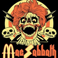 Mac Sabbath serve up a cheesy combo of metal and kitsch at the Social