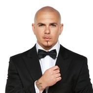 Pitbull performs for free at Universal's Mardi Gras this weekend