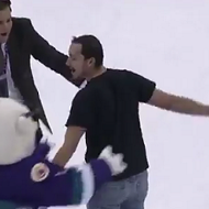 A Solar Bears fan sank an impossible shot last night and won $100k