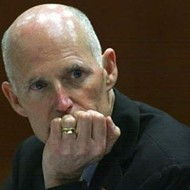 Rick Scott gets dragged by California Gov. Jerry Brown at Beverly Hills conference