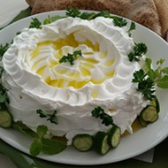 You haven't lived until you've had the labneh from Maraya Restaurant