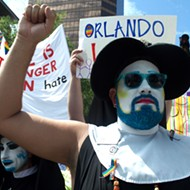 Westboro protest at Orlando mass shooting victims' funeral fizzles against 'angels'