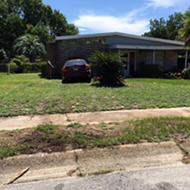 A Florida woman was driving and praying with her eyes closed and crashed into a house