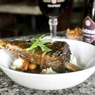 Sanford gastropub Buster's Bistro has plenty of Belgian beer and some of the best frites we've ever tasted
