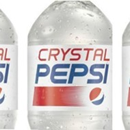 Crystal Pepsi brings 1992 back for eight weeks starting today