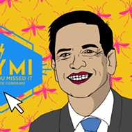 ICYMI: Marco Rubio's strange speech, Pulse money, horny manatees and other stuff you may have overlooked last week