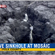 Sinkhole at phosphate plant dumps 215 million gallons of acidic water into Floridan aquifer