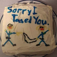 Local media outlets mistakenly think Florida cop sent a 'Sorry I tased you' cake