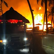 Massive fire rips through a Florida Keys luxury resort just months after it opens
