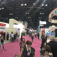 If last year's IAAPA  was the coming-out party for virtual reality, 2016's expo was VR's huge tacky wedding