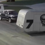 This teaser video for Friday's Crash-a-Rama at Orlando Speedworld is completely insane