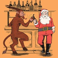Bend an elbow with a half-goat, half-demon at Hammered Lamb's Krampusnacht