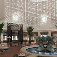 A $12 million renovation is coming to the Dolphin hotel lobby