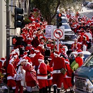 SantaCon turns Thornton Park into an annual boozy parade of Santas